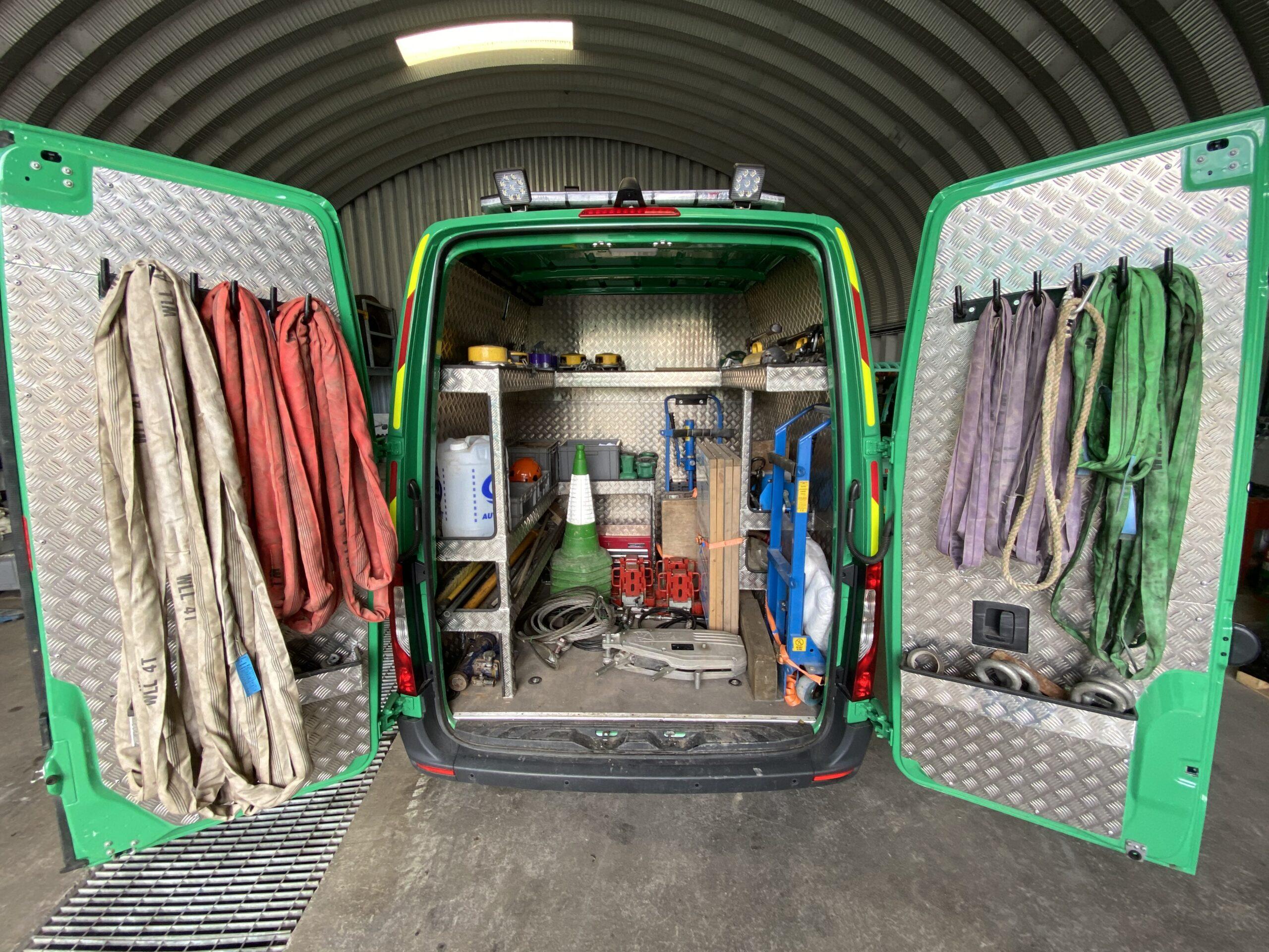 Equipped Van