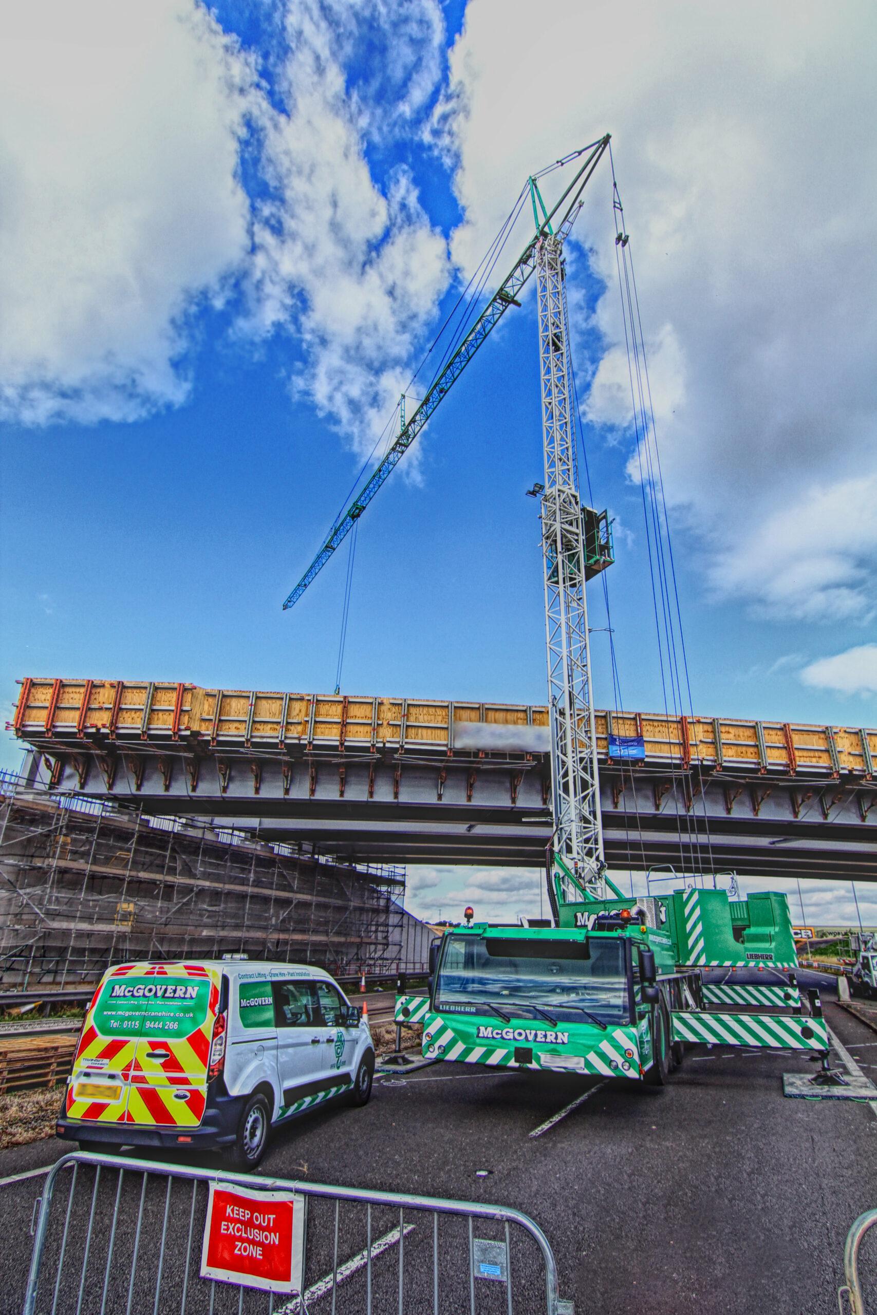 Crane building Bridge