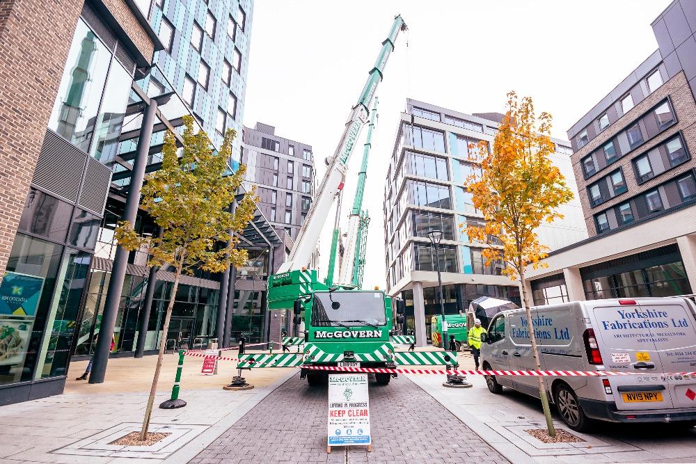 Keep clear of Crane