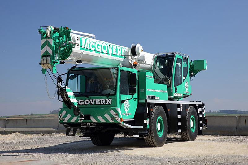 McGovern Crane on truck