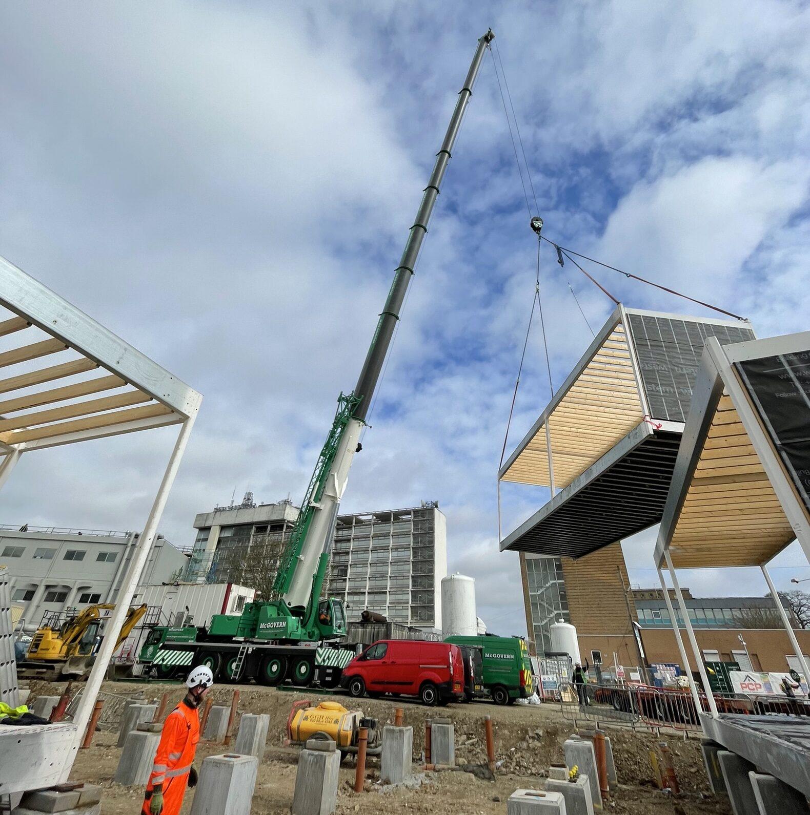Crane lifting Box