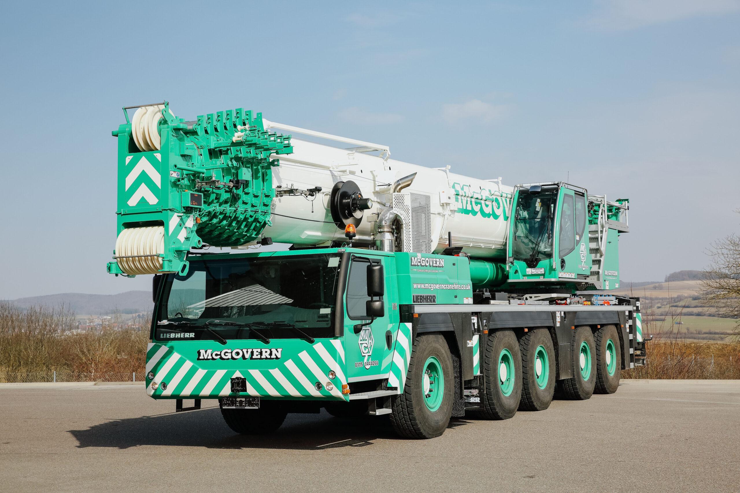 Crane of Truck